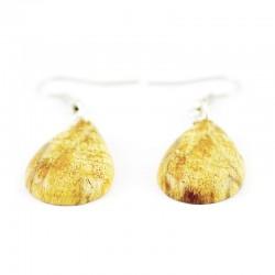 Zestaw Palo Santo: korale, bransoletka i koczyki, 100% naturalna biżuteria prosto z Peru. Idealny prezent dla niej.