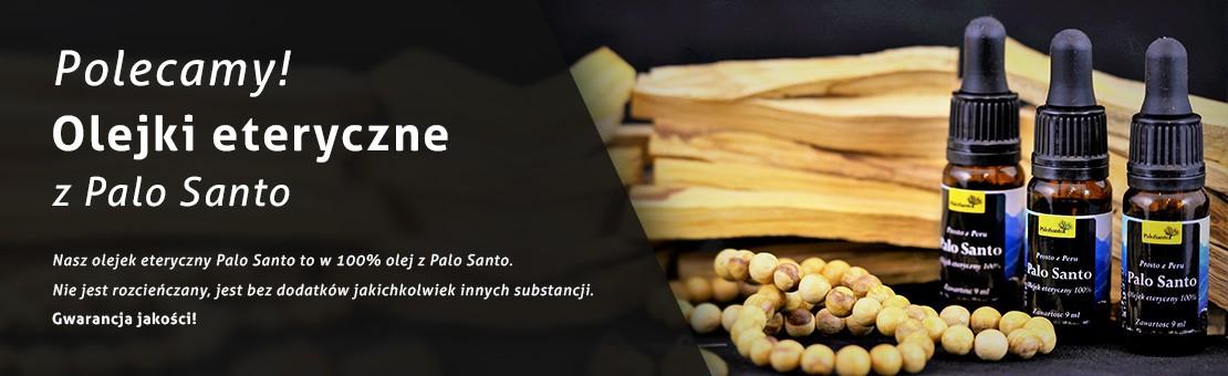 Olejki eteryczne z Palo Santo. Naturalne olejki 100% Palo Santo.