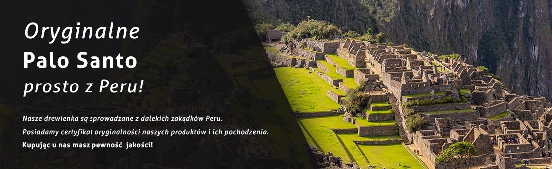 Oryginalne Palo Santo prosto z Peru. Naturalne kadzidło - prawdziwy zapach Palo Santo.